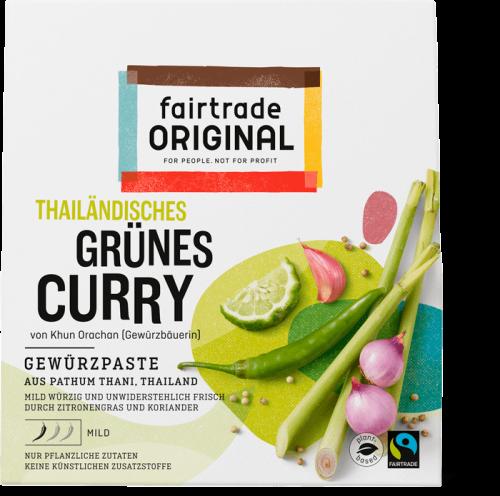 Thailändisches Grünes Curry Gewürzpaste