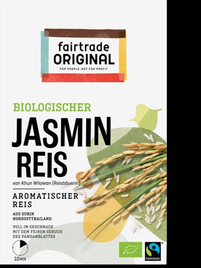 Biologischer Jasmin Reis