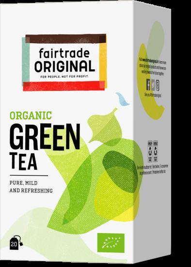 Biologischer Grüner Tee
