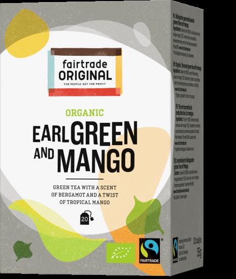 Organic Earl Green and Mango