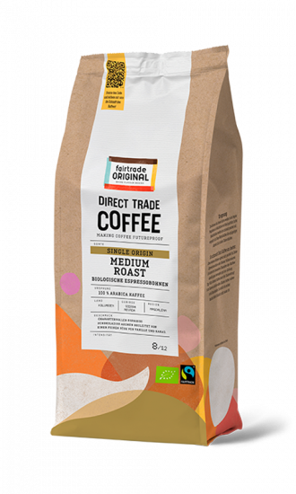 Direct Trade Coffee Biologischer Espresso
