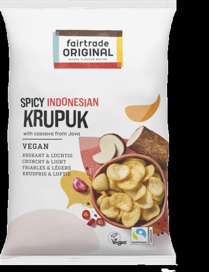 Würziges veganes Krupuk