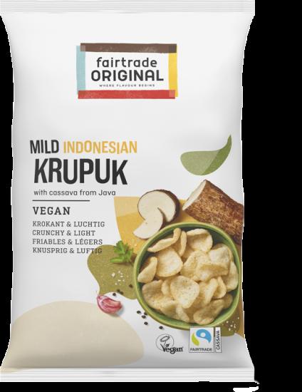 Mildes veganes Krupuk
